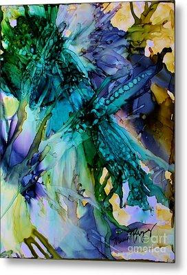 Dragonfly Dreamin Metal Print