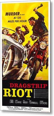 Dragstrip Riot, Us Poster Art, 1958 Metal Print