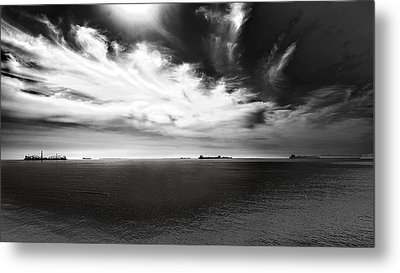 Metal Print featuring the photograph Drama Clouds by Joseph Hollingsworth
