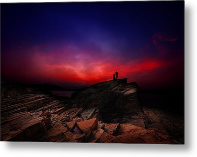 Metal Print featuring the photograph Dramatic Dawn by Afrison Ma
