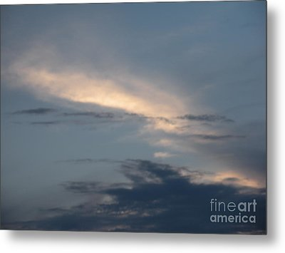 Dramatic Skyline Metal Print by Joseph Baril