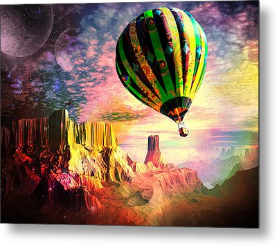 Dream And All Things Will Be Possible Metal Print by Spinning Angel