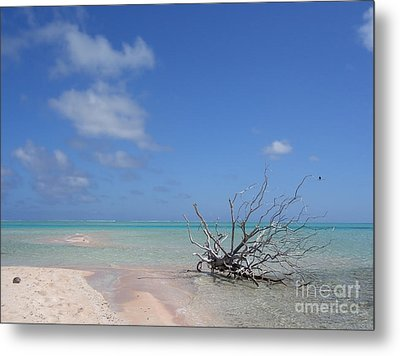 Metal Print featuring the photograph Dream Atoll  by Jola Martysz