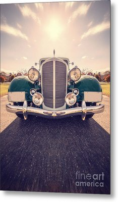 Dream Car Metal Print by Edward Fielding