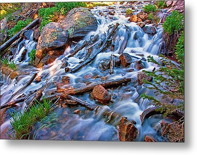 Dream Cascade Metal Print by Brian Kerls