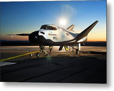 Dream Chaser Spaceplane Testing Metal Print by Nasa