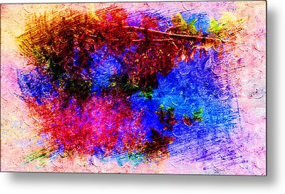 Dream Colors In The Spring Metal Print