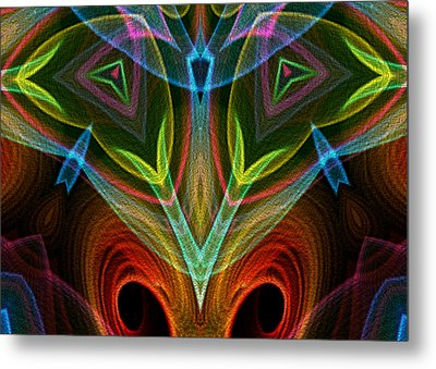 I Dream Flowers Metal Print by Owlspook