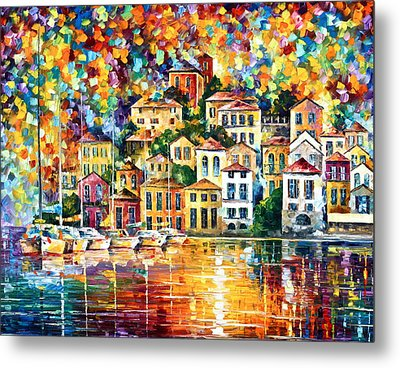 Dream Harbor Metal Print