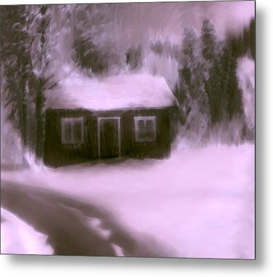 Dream House  C# 43 Metal Print