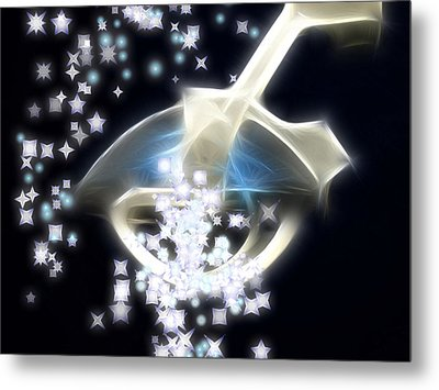 Dream Infusion Metal Print by Wendy J St Christopher