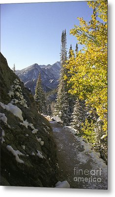 Metal Print featuring the photograph Dream Lake Sunrise by Arthaven Studios
