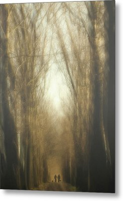 Dream Lane Metal Print