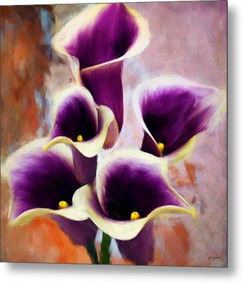 Dream Of Purple Metal Print by Lourry Legarde