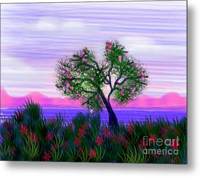 Dream Of Spring Metal Print by Judy Via-Wolff