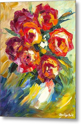 Dream Roses Metal Print by Jessilyn Park