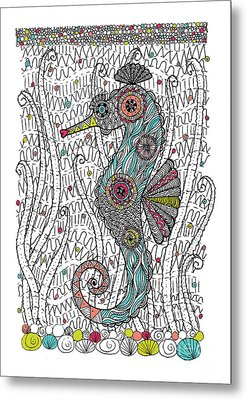 Dream Seahorse Metal Print