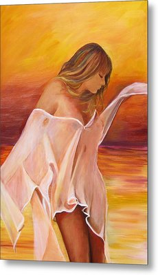 Metal Print featuring the painting Dream by Sheri  Chakamian