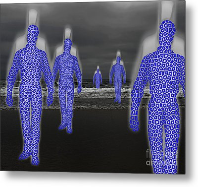 Dream Travelers Metal Print by Keith Dillon