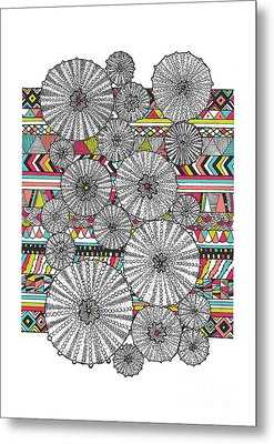 Dream Urchins Metal Print by Susan Claire