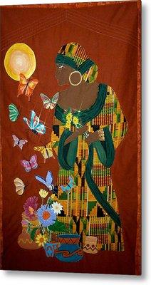 Dreaming Butterflies Metal Print by Linda Egland