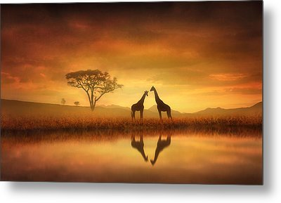 Dreaming Of Africa Metal Print by Jennifer Woodward