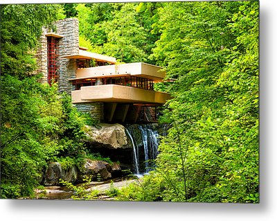 Dreaming Of Fallingwater 3 Metal Print