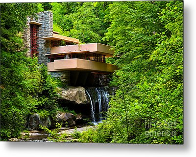 Dreaming Of Fallingwater 4 Metal Print