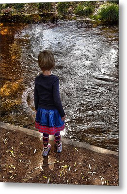 Metal Print featuring the photograph Dreaming On Water by Lanita Williams