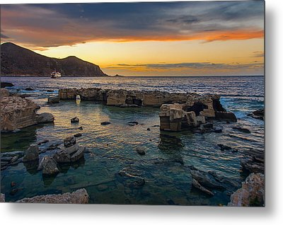 Dreaming Sunset Metal Print by Alfio Finocchiaro