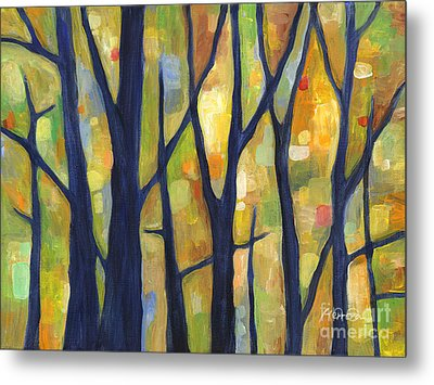 Dreaming Trees 2 Metal Print by Hailey E Herrera