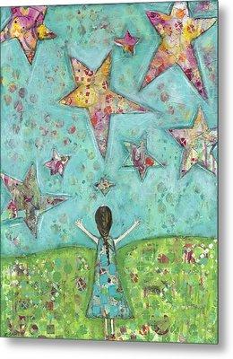 Dreams On Stars Metal Print by Kirsten Reed
