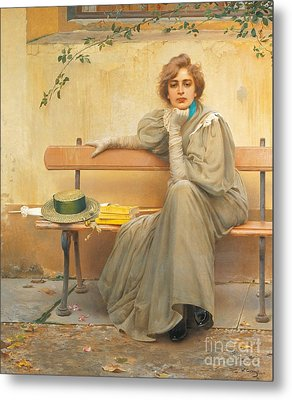Dreams  Metal Print by Vittorio Matteo Corcos