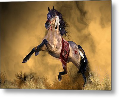 Dreamweaver Metal Print by Valerie Anne Kelly
