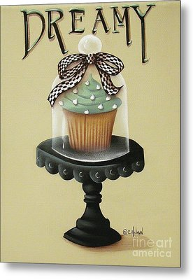 Dreamy Cupcake Metal Print by Catherine Holman