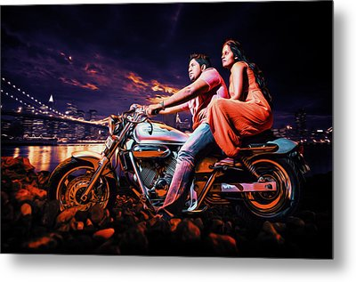 Dreamy Night Metal Print by Dumindu Shanaka