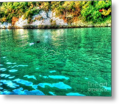 Metal Print featuring the photograph Dreamy River by Hanza Turgul