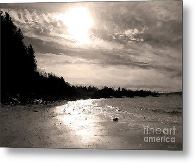 Metal Print featuring the photograph Dreamy Tides by Arlene Sundby