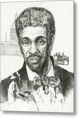 Dred Scott Metal Print by Don  Langeneckert