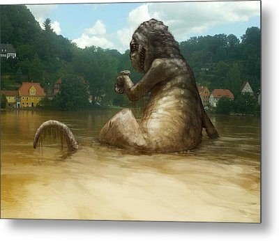 Dregs Of The Flood Metal Print