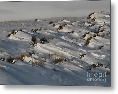 Drifting Around Metal Print by Edward R Wisell