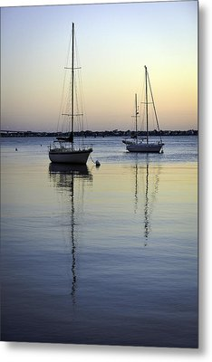 Drifting Sunrise Metal Print