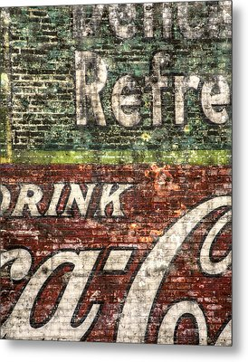 Drink Coca-cola 1 Metal Print by Scott Norris