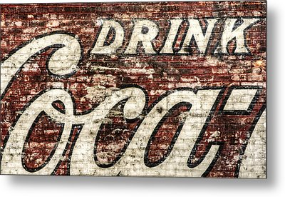 Drink Coca-cola 2 Metal Print