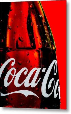 Drink Coca Cola Metal Print by Bob Orsillo