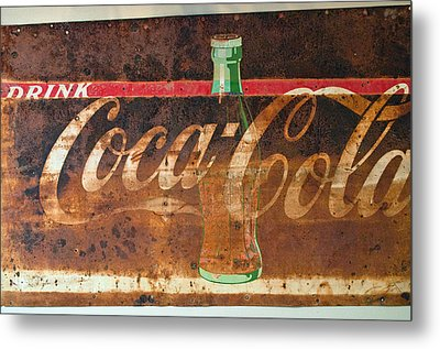 Drink Coca-cola Metal Print