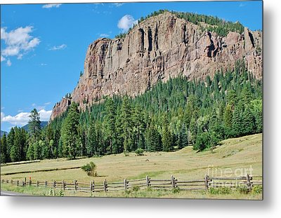Metal Print featuring the photograph Drive To Wolf Creek by William Wyckoff