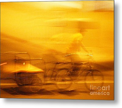 Metal Print featuring the photograph Driver by Lin Haring