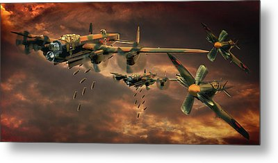 Metal Print featuring the photograph Drop Zone by Steven Agius