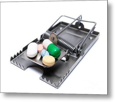 Drug Treatment Risk Metal Print by Sinisa Botas